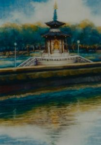 Peace Pagoda - Lee Campbell