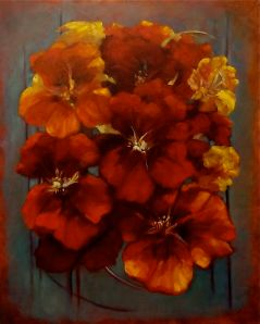 Nasturtiums - Lee Campbell
