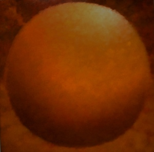 Gold Orb - oil on canvas Lee Campbell