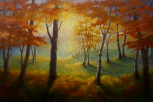 Light at the Edge Lee Campbell oil on canvas