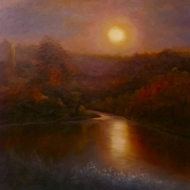 River Glow - Lee Campbell