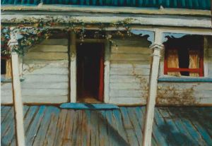 Chris's Verandah - Lee Campbell