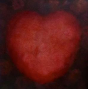 'Soft Heart' oil on canvas Lee Campbell