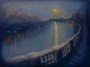 'Snowy Thames' - Lee Campbell
