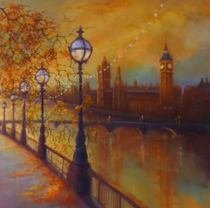 'Golden Thames' - Lee Campbell