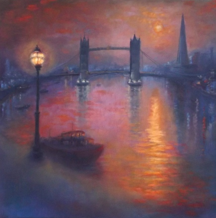Thames Nocturne' - Lee Campbell