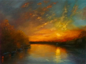 Twickenham Dusk - Lee Campbell