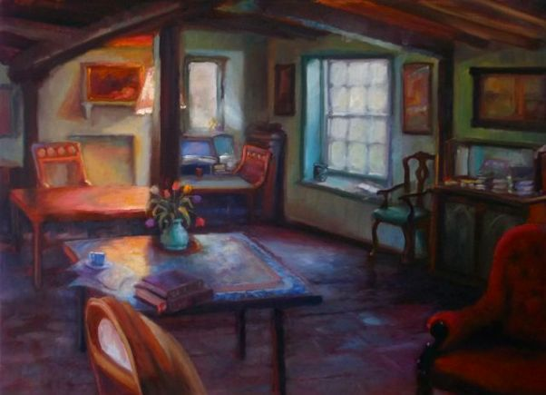 'Monks House I' oil on canvas - Lee Campbell