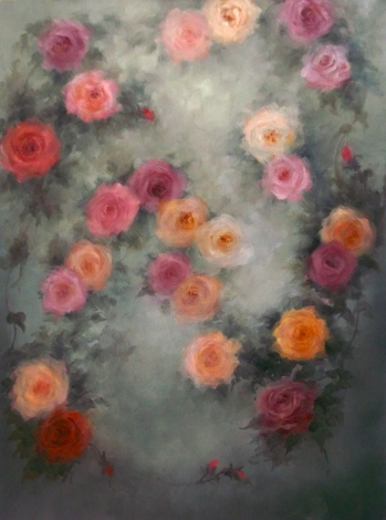 'Rose Irene' oil on canvas Lee Campbell